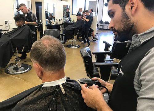 آموزش خصوصی و نیمه خصوصی آرایشگری مردانه